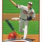Jason Hammel 2012 Topps Update #US186 Baltimore Orioles Baseball Card