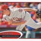 Jason Isringhausen 2012 Topps Update #US329 Los Angeles Angels Baseball Card