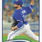 Brandon Lyon 2012 Topps Update #US266 Toronto Blue Jays Baseball Card