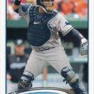 Jose Molina 2012 Topps #366 Tampa Bay Rays Baseball Card