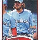 Chris Perez 2012 Topps Update #US200 Cleveland Indians Baseball Card