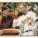 Nolan Reimold 2012 Topps #176 Baltimore Orioles Baseball Card