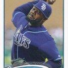 Fernando Rodney 2012 Topps Update #US203 Tampa Bay Rays Baseball Card