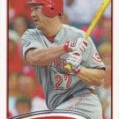 Scott Rolen 2012 Topps #255 Cincinnati Reds Baseball Card
