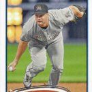 Gaby Sanchez 2012 Topps #513 Miami Marlins Baseball Card