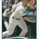 Casper Wells 2012 Topps #526 Seattle Mariners Baseball Card