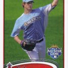 C.J. Wilson 2012 Topps Update #US50 Los Angeles Angels Baseball Card