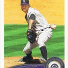 Matt Daley 2011 Topps Update #US214 Colorado Rockies Baseball Card