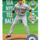 Ike Davis 2011 Topps #290 New York Mets Baseball Card