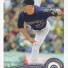 Matt Lindstrom 2011 Topps Update #US171 Colorado Rockies Baseball Card