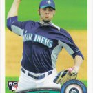 Josh Lueke 2011 Topps Rookie #618 Seattle Mariners Baseball Card