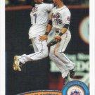 New York Mets 2011 Topps #157 Baseball Team Card