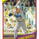 Paul Molitor 2011 Topps '60 Years of Collecting' #60YOT-29 Milwaukee Brewers Baseball Card