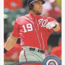 Laynce Nix 2011 Topps Update #US284 Washington Nationals Baseball Card