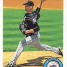 Mike Pelfrey 2011 Topps #542 New York Mets Baseball Card