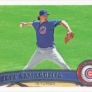 Jeff Samardzija 2011 Topps #564 Chicago Cubs Baseball Card