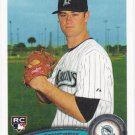 Brett Sinkbeil 2011 Topps Rookie #117 Florida Marlins Baseball Card