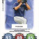 David Price 2010 Topps 'Attax' #DP Tampa Bay Rays Baseball Card
