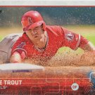 Mike Trout 2015 Topps #300 Los Angels Angels Baseball Card