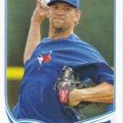 Josh Johnson 2013 Topps #473 Toronto Blue Jays Baseball Card