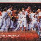St. Louis Cardinals 2015 Topps #648 Baseball Team Card