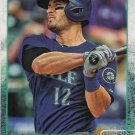 Justin Ruggiano 2015 Topps #384 Seattle Mariners Baseball Card
