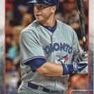 Justin Smoak 2015 Topps #608 Toronto Blue Jays Baseball Card