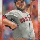 Wade Miley 2015 Topps #601 Boston Red Sox Baseball Card