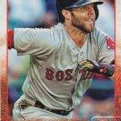 Dustin Pedroia 2015 Topps #75 Boston Red Sox Baseball Card
