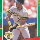 Barry Bonds 1991 Donruss #495 Pittsburgh Pirates Baseball Card