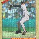 Roger Clemens 1987 Topps #1 Boston Red Sox Baseball Card
