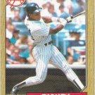 Rickey Henderson 1987 Topps #735 New York Yankees Baseball Card