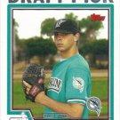 Jeffrey Allison 2004 Topps Rookie #672 Florida Marlins Baseball Card