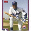 Tony Batista 2004 Topps #506 Montreal Expos Baseball Card