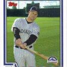 Jeremy Burnitz 2004 Topps #574 Colorado Rockies Baseball Card