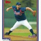 Paul Byrd 2004 Topps #451 Atlanta Braves Baseball Card