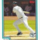 Luis Castillo 2004 Topps #218 Florida Marlins Baseball Card