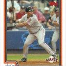 Jose Cruz 2004 Topps #249 San Francisco Giants Baseball Card