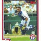 Einar Diaz 2004 Topps #208 Texas Rangers Baseball Card