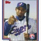 Carl Everett 2004 Topps #566 Montreal Expos Baseball Card