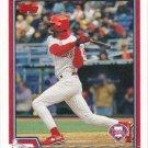 Doug Glanville 2004 Topps #434 Philadelphia Phillies Baseball Card