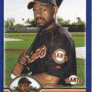 Marquis Grissom 2003 Topps #526 San Francisco Giants Baseball Card