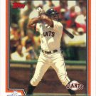 Marquis Grissom 2004 Topps #601 San Francisco Giants Baseball Card