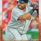 Pablo Sandoval 2015 Topps #650 Boston Red Sox Baseball Card