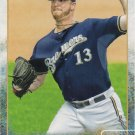 Will Smith 2015 Topps #514 Milwaukee Brewers Baseball Card
