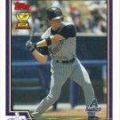 Robby Hammock 2004 Topps #531 Arizona Diamondbacks Baseball Card