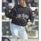 Justin Hampson 2007 Fleer Rookie #337 San Diego Padres Baseball Card