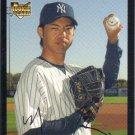 Kei Igawa 2007 Topps Rookie #640 New York Yankees Baseball Card
