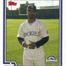 Damian Jackson 2004 Topps #433 Colorado Rockies Baseball Card