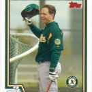 Eric Karros 2004 Topps #406 Oakland Athletics Baseball Card